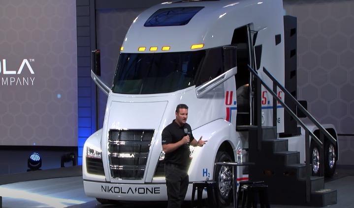 Nikola semi truck 2016
